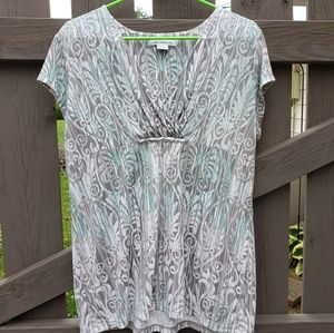 Liz Clairborne XL Short Sleeve Top